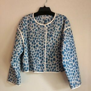 NWT Opening Ceremony Printed Quilted Jacket